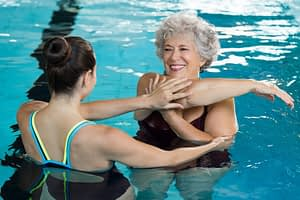 Aquatic Therapy Helpls Post Surgical Conditions