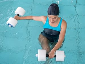 Aquatic Therapy Reduces Stress on Joints and Muscles